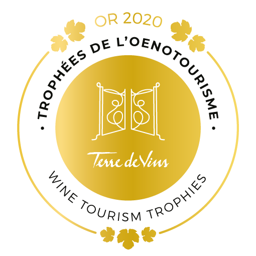 Gouden medaille - Wine Tourism Trophies 2020